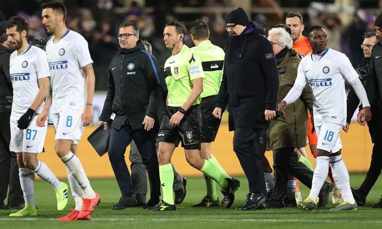 Fiorentina-Inter, quando l'arbitro cambia il corso della stagione